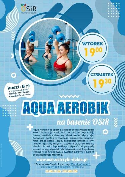 AQUA AEROBIK - STARTUJEMY 1 CZERWCA